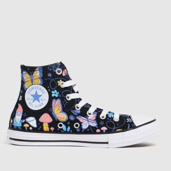 Converse Multi Hi Butterfly Fun Girls Junior