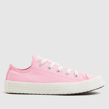 Converse Pale Pink Lo Espadrille Girls Junior