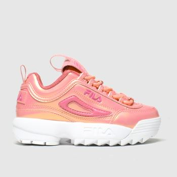 Fila Pink Disruptor Ii Liquid Girls Junior
