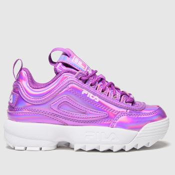 Fila Purple Disruptor Ii Liquid Girls Junior