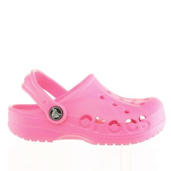 3e6ca6656 Girls pink crocs baya trainers