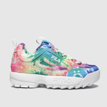 Fila Multi Disruptor Ii Tie Dye c2namevalue::Girls Junior