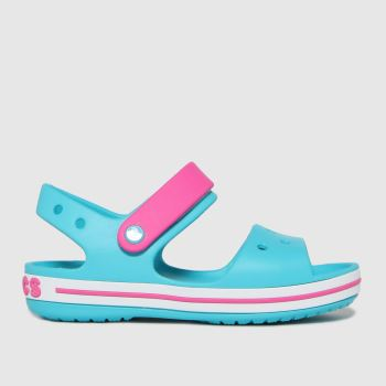 crocs Turquoise Crocband Girls Junior