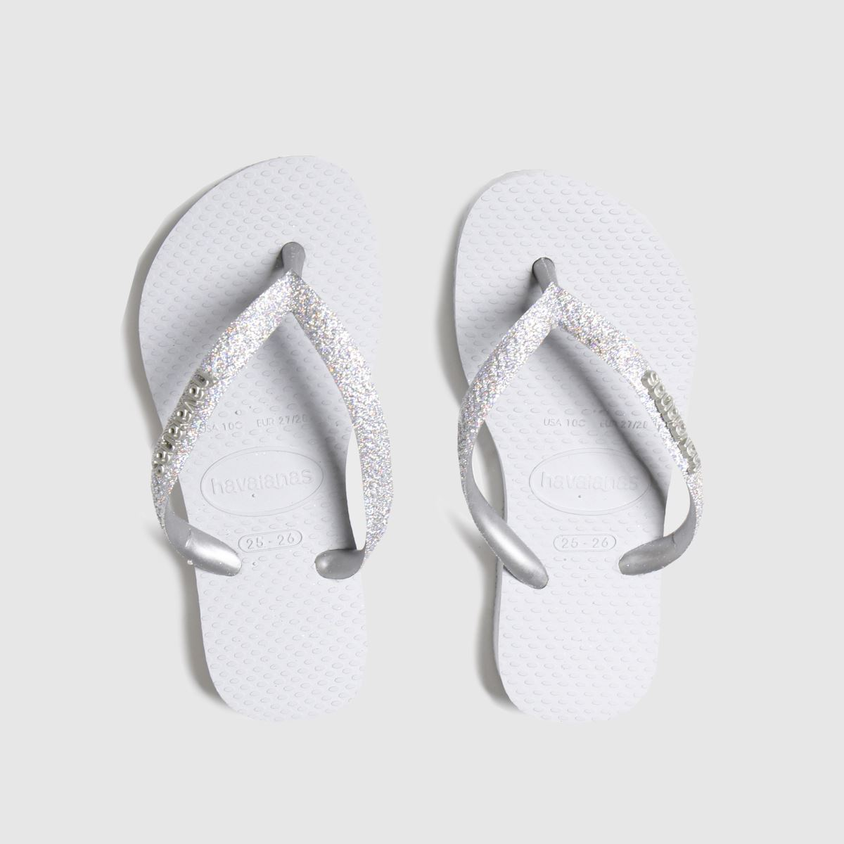 Havaianas Silver Slim Shiny Trainers Junior