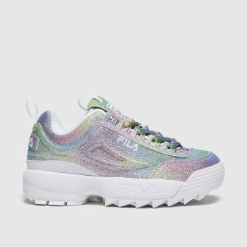 Fila Multi Disruptor Ii Glimmer Girls Junior