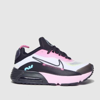 Nike White & Black Air Max 2090 Girls Junior