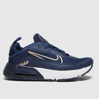Nike Navy & Gold Air Max 2090 Girls Junior#