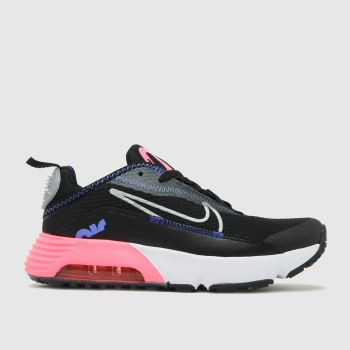 Nike Black & pink Air Max 2090 Girls Junior