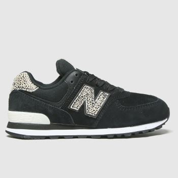 New balance Black 574 Girls Junior