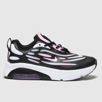 Nike Black & White Air Max Exosense Girls Junior