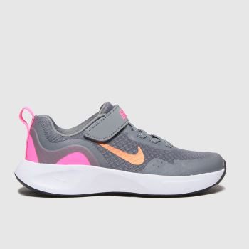 Nike Grey Wearallday Girls Junior#