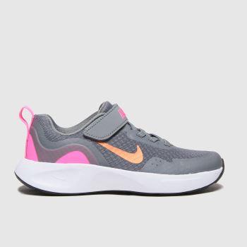Nike Grau Wearallday MädchenJunior