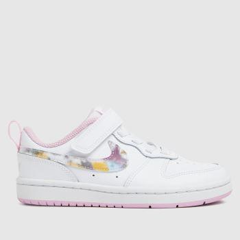 Nike White Court Borough Low 2 Girls Junior