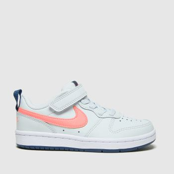 Nike Grey Court Borough Low 2 Girls Junior
