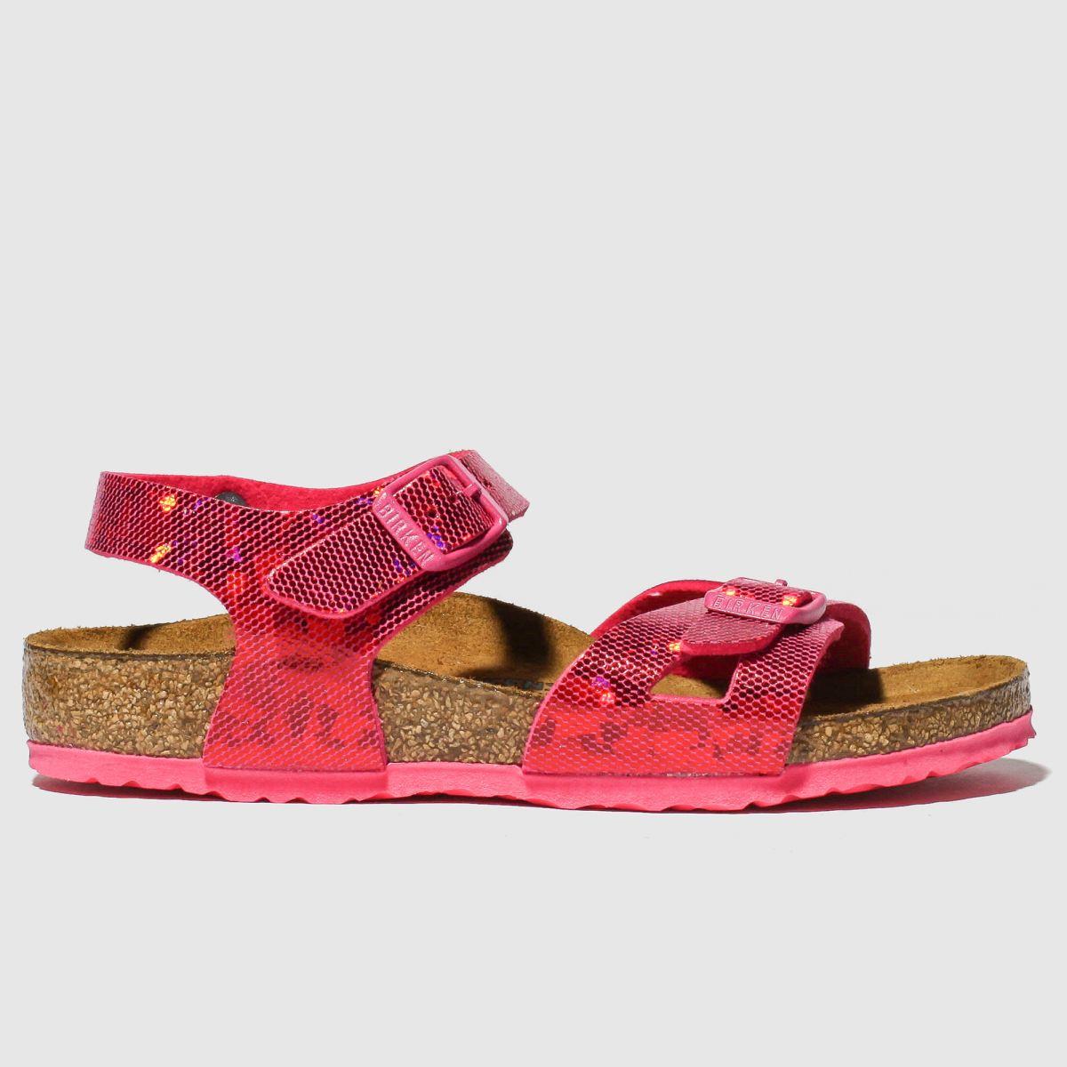 Birkenstock Pink Rio Sandals Junior