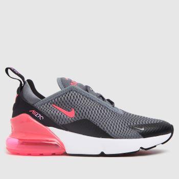 Nike Black & Grey Air Max 270 Girls Junior