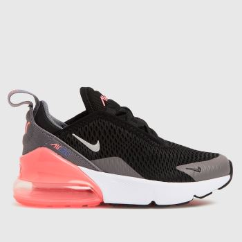 Nike Grey & Black Air Max 270 Girls Junior