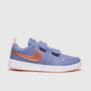 Nike Blue Pico 5 Girls Junior