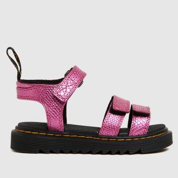 Dr Martens Pink Klaire Girls Junior