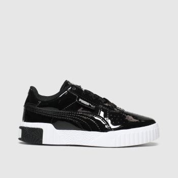 Puma Black Cali Girls Junior
