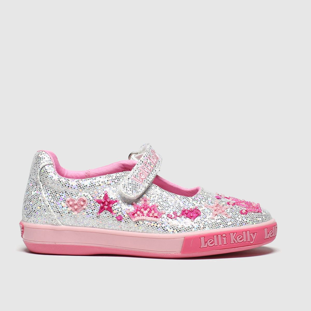 Lelli Kelly Silver Tiara Dolly Trainers Junior