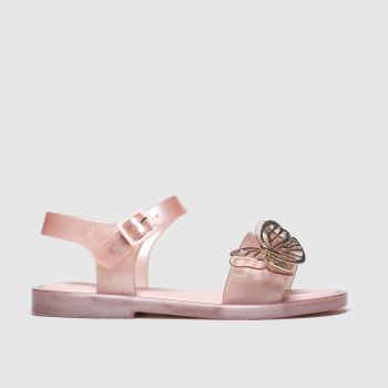 Melissa Pink Sandal Butterfly Girls Junior