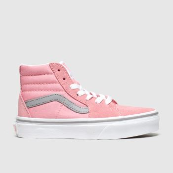 Vans Pale Pink Sk8-hi Girls Junior