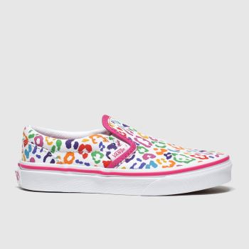 Vans Multi Classic Slip-on c2namevalue::Girls Junior#promobundlepennant::£5 OFF BAGS