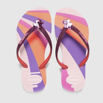 Havaianas Multi Slim Glitter Ii Girls Junior