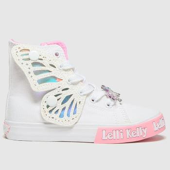 Lelli Kelly White Unicorn Wings Jnr Girls Junior