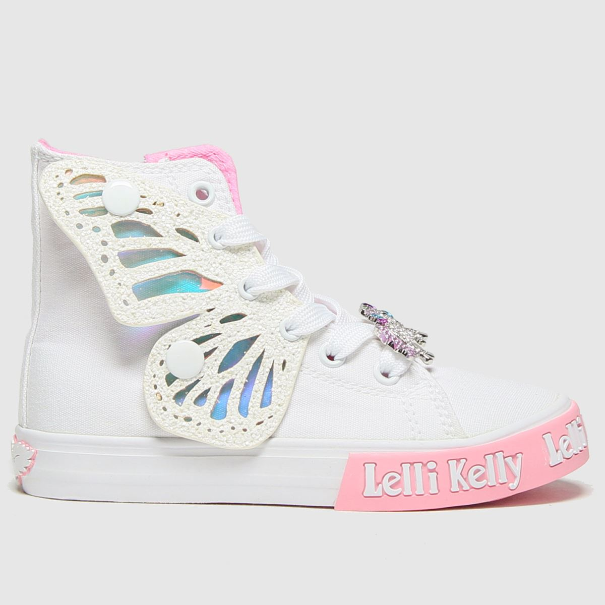 Lelli Kelly White Unicorn Wings Jnr Trainers Junior