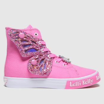 Lelli Kelly Pale Pink Unicorn Wings Girls Junior
