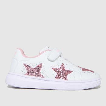 Lelli Kelly White & Pink Glimmer Girls Junior