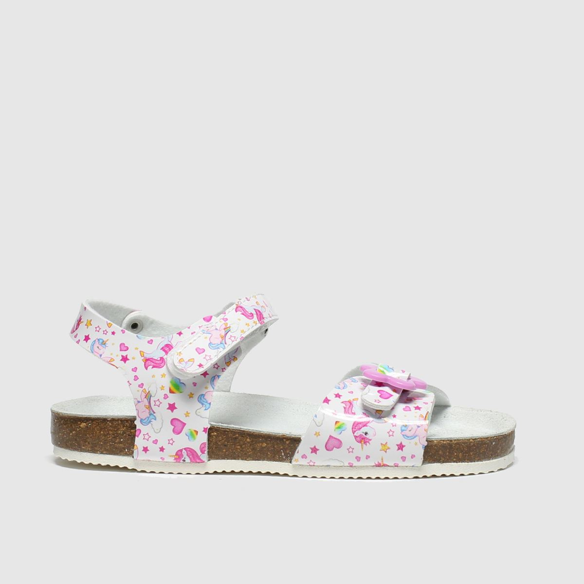 Lelli Kelly White & Pink Sonia Trainers Junior