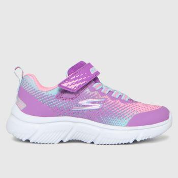 SKECHERS Purple Go Run 650 Girls Junior