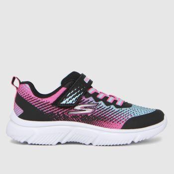 SKECHERS Black & pink Go Run 650 Girls Junior
