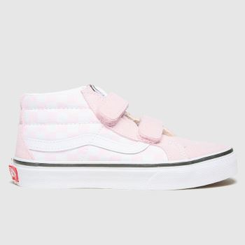 Vans Lilac Sk8-mid Reissue V Girls Junior