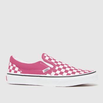 Vans Pink Classic Slip-on Girls Junior