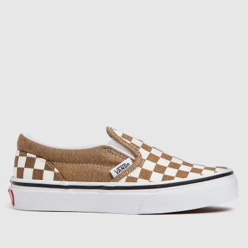 Vans Bronze Classic Slip-on Girls Junior