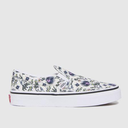 Vans Classic Slip-on Floraltitle=