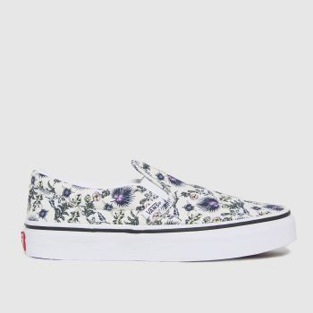 Vans Multi Classic Slip-on Floral Girls Junior