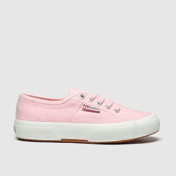 Superga Pink 2750 Classic Girls Junior