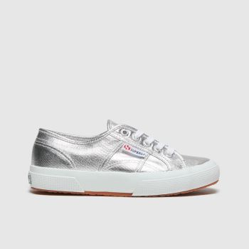 Superga Silver 2750 Girls Junior