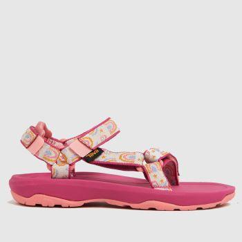 Teva Pink Hurricane Xlt 2 Girls Junior