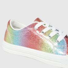 schuh Magic Glitter Lace Up,3 of 4