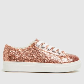 schuh Pale Pink Majesty Lace Girls Junior