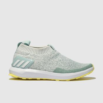 ADIDAS PALE BLUE RAPIDA RUN TRAINERS YOUTH