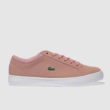 Lacoste Pink Straightset Girls Youth