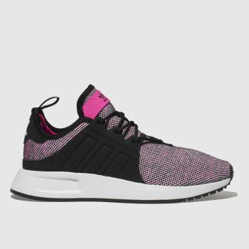 Adidas Black & pink Adi X_Plr Girls Youth