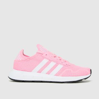 adidas Pink Swift Run X Girls Youth